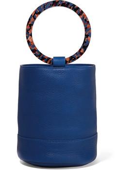 Bonsai 20 Textured Leather Bucket Bag by Simon Miller