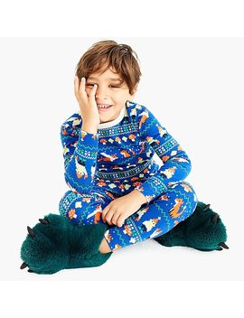 Kids' Pajama Set In Gnome Print by J.Crew