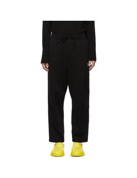 Black Sashiko Sweatpants by Y 3