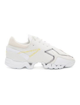 White Ekika Sneakers by Y 3