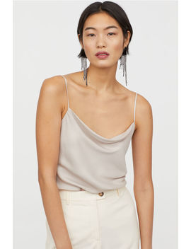 Draped Camisole Top by H&M