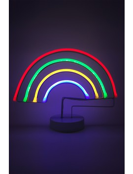 Rainbow Led Neon Stand by Decomantra