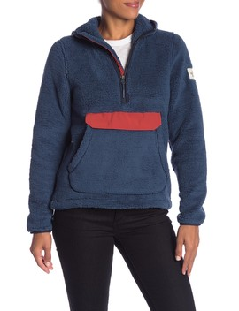 Campshire Hooded Half Zip Pullover by The North Face