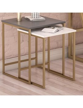 Cosmo Living By Cosmopolitan Scarlett 2 Piece Nesting Tables & Reviews by Cosmo Living By Cosmopolitan