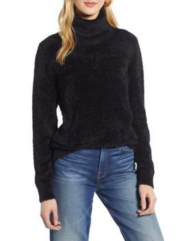 Fuzzy Turtleneck Pullover by Halogen®