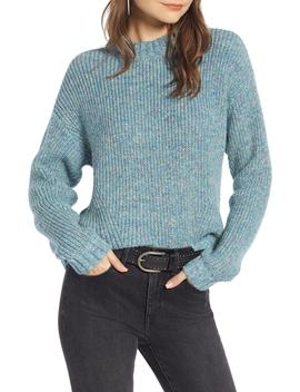 Space Dye Shaker Stitch Cotton Blend Sweater by Treasure & Bond