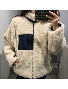 Cara Melody   Fleece Lined Faux Fur Jacket by Cara Melody