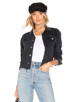 Cara Fitted Cropped Jacket by Grlfrnd