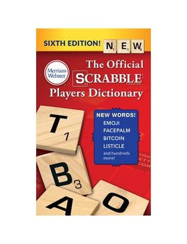 The Official Scrabble Players Dictionary (Paperback) by Merriam Webster