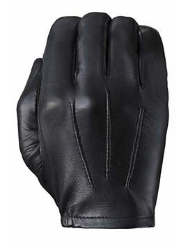Tough Gloves Men's Ultra Thin Patrol Cabretta Unlined Leather Gloves by Tough Gloves