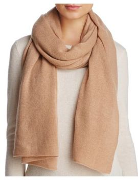 Solid Oversized Cashmere Wrap   100 Percents Exclusive by C By Bloomingdale's