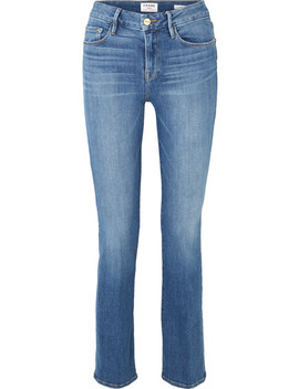 Le Mini Boot Mid Rise Jeans by Frame