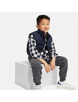 Kids Pile Lined Sweatpants by Uniqlo