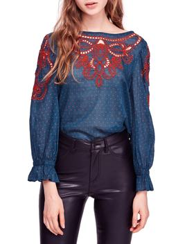 Everything I Know Cotton Peasant Blouse by Free People