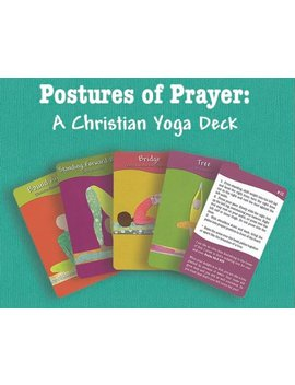 Postures Of Prayer: A Christian Yoga Deck by Etsy