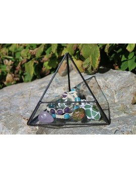 Charging Pyramid, Cleanse Energize Rejuvenate Charge Crystals, Water, Oils, Gemstones, Amplify Energy, Energy Triangle by Etsy