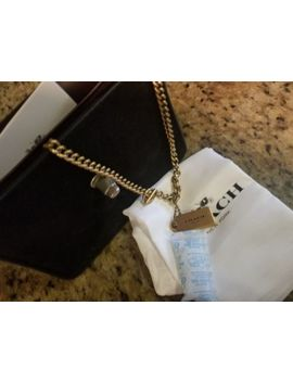 Coach Bowery Mini Crossbody With Tea Rose Turnlock 24976 Black/Gold by Coach