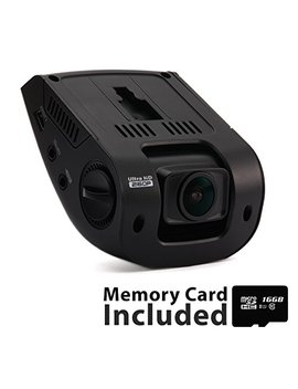"""Rexing V1 3rd Generation 4 K Uhd Wi Fi Car Dash Cam 2.4"""" Lcd 170° Wide Angle Dashboard Camera Recorder With Wi Fi, 16 Gb Card, G Sensor, Wdr, Loop Recording by Rexing"""