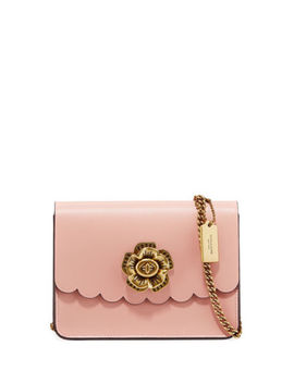 New Coach Bowery Mini Crossbody With Tea Rose Turnlock Peony/Gold $250 by Coach