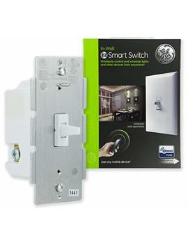 Ge 14292 Z Wave In Wall Smart Toggle Sw by Ge
