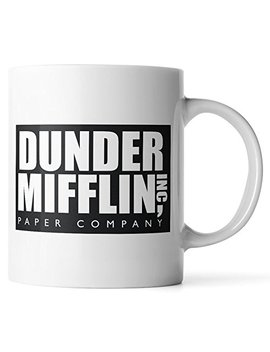 Wu Ren Synchkg111723 Dunder Mifflin The Office Funny Coffee Mug By Donbicentenario, One Size, Multicolor by Wu Ren