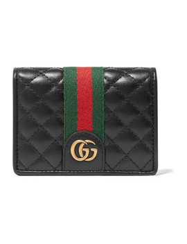 Quilted Leather Cardholder by Gucci