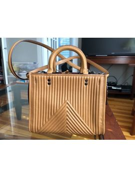 Coach Rogue 25 Quilted/Riv<Wbr>Ets/Leather Ba<Wbr>G Light Saddle Msrp $795 Style 22797 Nwt by Coach