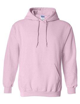 Gildan 18500   Classic Fit Adult Hooded Sweatshirt Heavy Blend   First Quality   Light Pink   Large by Gildan
