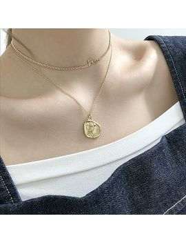 Assisi   925 Sterling Silver Owl Coin Pendant Necklace by Assisi