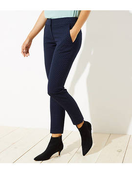 Petite Velvet Dot Skinny Ankle Pants In Julie Fit by Loft