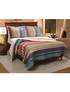 Greenland Home 3 Piece Southwest Quilt Set, King by Greenland Home