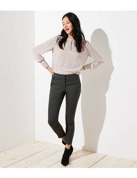 Petite Skinny Button Pocket Pants In Marisa Fit by Loft