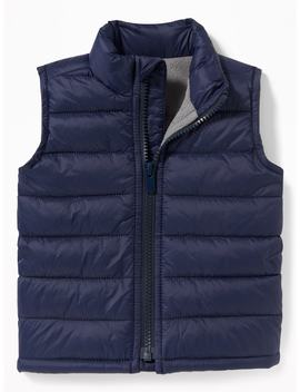 Frost Free Puffer Vest For Baby by Old Navy