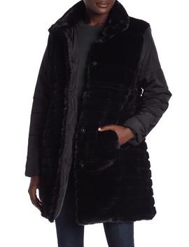 Reversible Faux Fur Jacket by Via Spiga