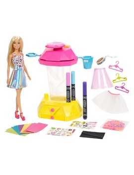 Barbie Crayola Confetti Skirt Studio Playset by Barbie