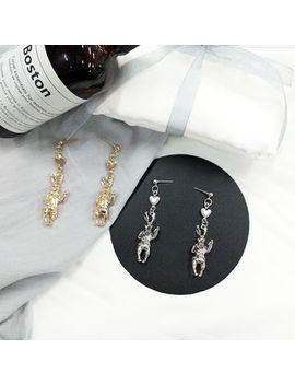 Scoria   Rabbit Earring by Scoria