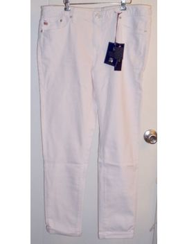 Nwt Ralph Lauren Men's 31 X32 Team Usa 2016 Olympic Team White Jeans Made In Usa by Polo Ralph Lauren