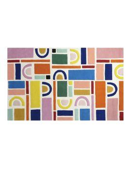 Building Blocks Rainbow Rug 8'x10' by Crate&Barrel