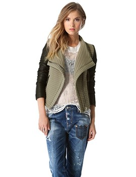 Mulen Ribbed Combo Jacket by Iro