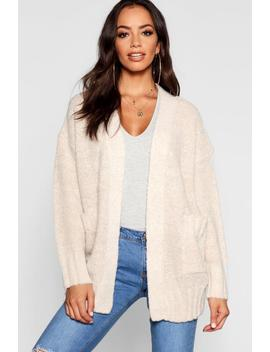 Cardigan With Pockets by Boohoo