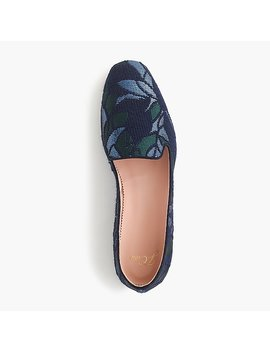 Jacquard Smoking Slippers by J.Crew