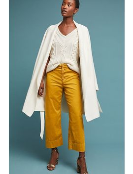 Cropped Chino Pants by Anthropologie