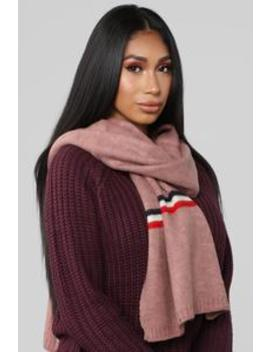 Long For You Striped Scarf   Pink by Fashion Nova