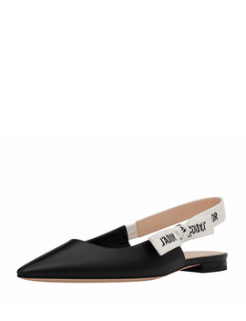 J'adior Leather Slingback Flat by Neiman Marcus