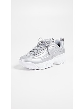 Disruptor Ii Premium Metallic Sneakers by Fila