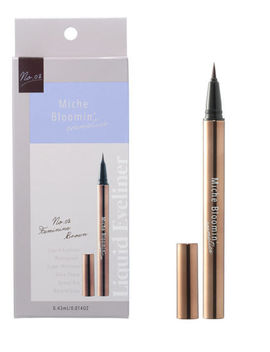 From Japan Miche Bloomin Liquid Eyeliner 02 Feminine Brown / Tracking Sal by Miche Bloomin