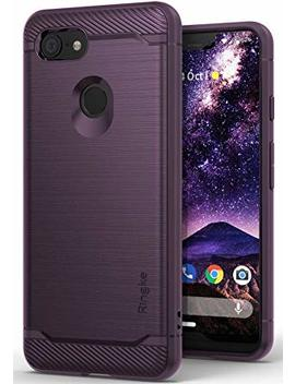Ringke [Onyx] Compatible With Pixel 3 Xl Case [Extreme Tough] Compatible Rugged Flexible Protection Durable Anti Slip Tpu Heavy Impact Shock Absorbent Case For Google Pixel 3 Xl   Lilac Purple by Ringke