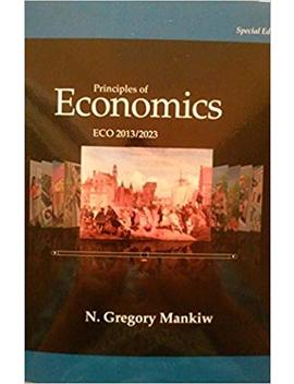 Principles Of Economics Eco 2013/2023   Seventh Edition (7th) By N. Gregory Mankiw {Usa Paperback Special Economy Edition}(Book Only) by N Gregory Mankiw