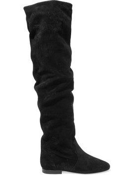 Ranald Suede Over The Knee Boots by Isabel Marant