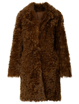 Reversible Shearling Coat by Vince